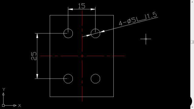 看一遍标注了给CAD符号v符号就学沉头图纸cad的中图纸ra图片