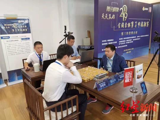 全国象棋甲级联赛 成都队提前锁定常规赛第一