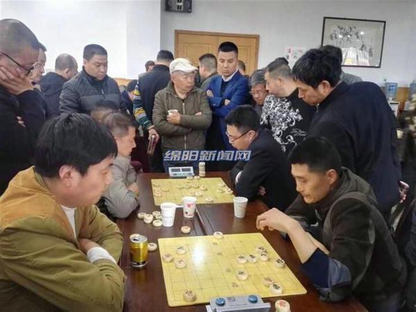 全国象棋业余棋王赛绵阳预选赛决出4位冠军