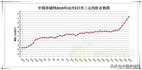 """10月9日猪评:猪价上涨猛如虎,此轮涨势多""""持久""""?"""