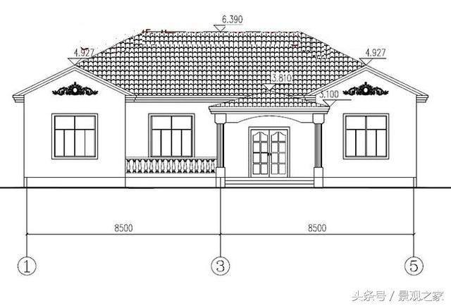 经典一层图纸设计图,自建一层房子农村推荐简约房屋设计广告语图片