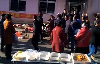 「挂牛腿卖猪肉?」朝阳尚志公园早市打架 只为这事……