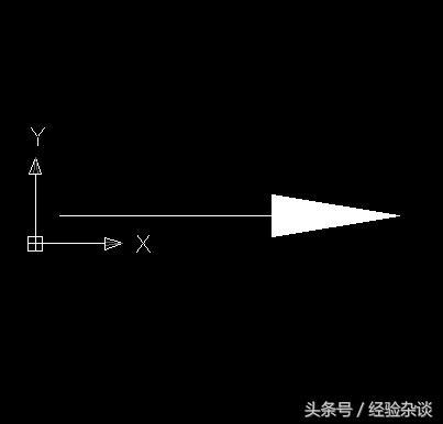 CAD标志多标识的箭头画命令中用线段公共场所cad图块图片