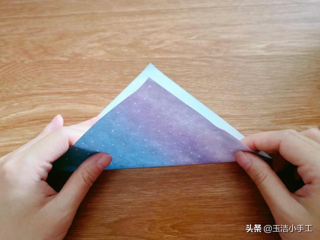 折纸大全 头盔折纸教程的图解步骤