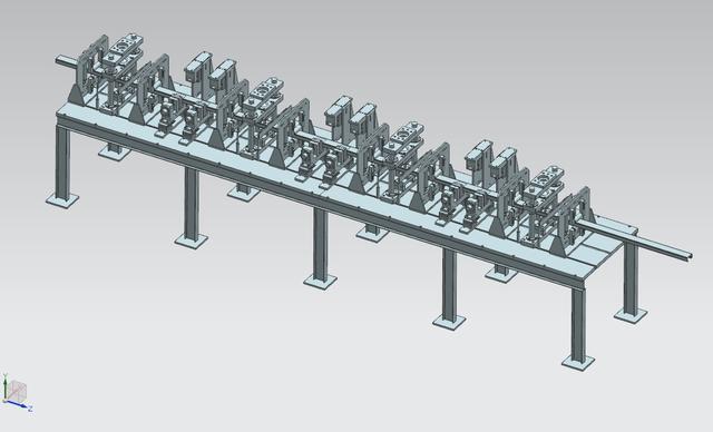 压花机3D图纸模型UGv图纸3d弯管机原理图纸图片
