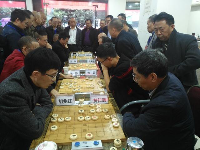 全国象棋业余棋王赛四川赛区广安预选赛开赛