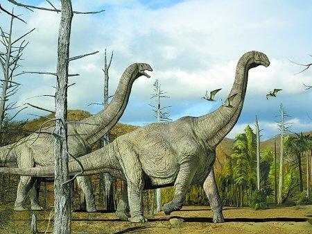 蜥脚类恐龙是这个世界上曾出现过的最壮观的陆地动物