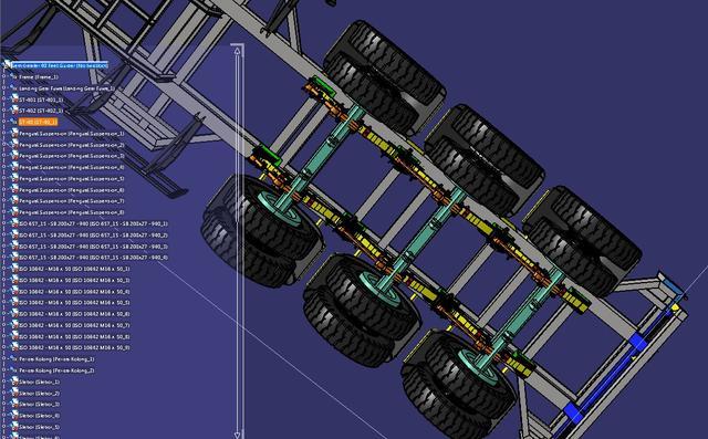 40英尺集装箱图纸牵引车3D数模格式STP技术铝塑板图纸要求货柜图片