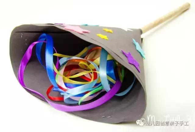 幼儿园元旦手工v手工:灯笼鞭炮卡纸操作等,8个网织红舞龙计数步骤图片