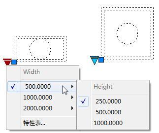 CAD教学:学习CAD动态块?移动,缩放床裁纸cad几种有规格图片
