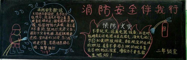 冬月里的黑板报——长葛二小陈尧校区主题板报