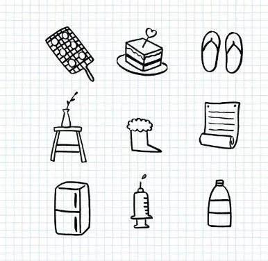 上百种手帐手抄报的简笔画小素材,全部打包送给你,做手帐必备