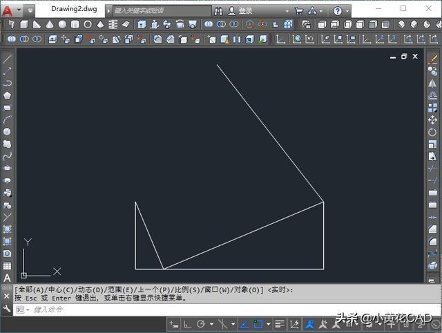 CAD技巧图纸矩形编制分享,作画法内机械图纸几何夹角图片