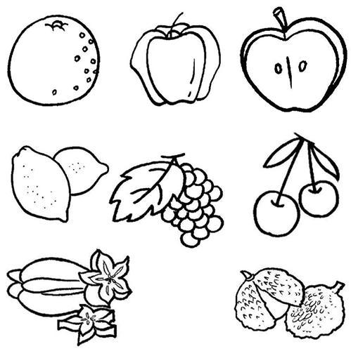 简笔画丨日常蔬菜水果,育儿家长幼师必备,和孩子一起学画画吧