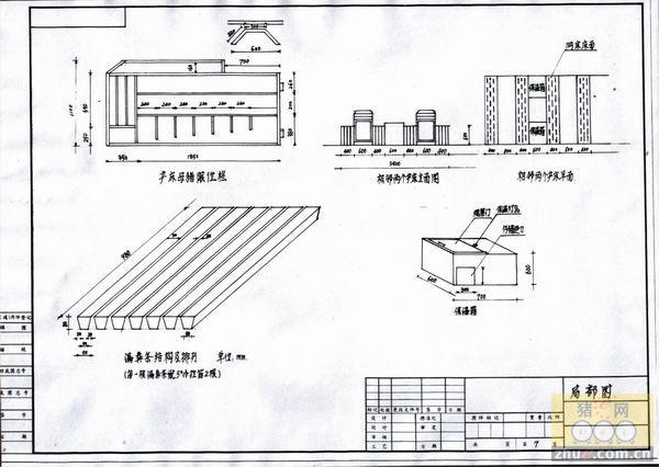 养猪场的规划设计,万头猪场设计图