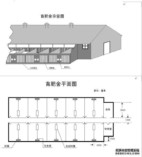 2011-12-13 育肥猪舍设计的要点及图示  2012-02-28 猪场育肥舍管理图片