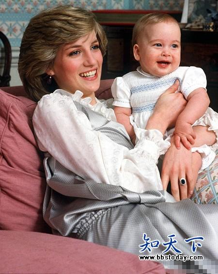 戴安娜王妃 夏洛特公主_网友合成戴安娜王妃和夏洛特公主照片走红【图
