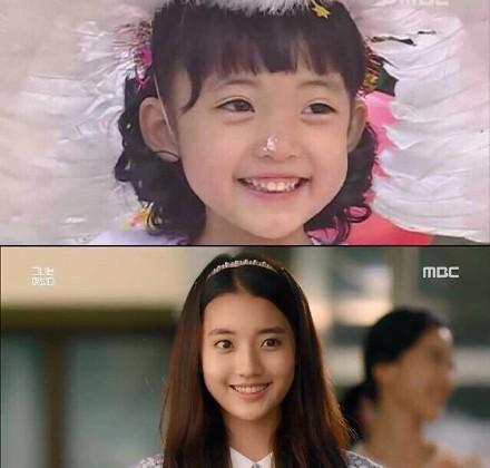 美妙人生韩馨菲扮演者郑多彬长大变美女 网友:她很漂亮