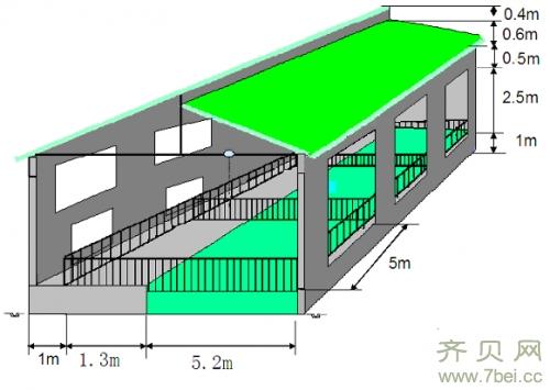 发酵床猪舍的设计图与施工图图片