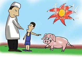 德国:部分学校禁止吃猪肉引发政治风波_迁安猪