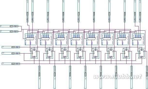 双向移位寄存器 8位双向移位寄存器电路设计