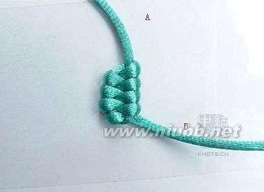 单条绳子的编�_绳子编织 各种基本绳结编法
