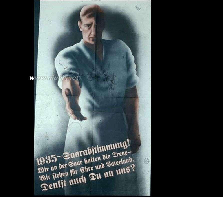 二战德国国旗 二战时期纳粹德国的宣传海报