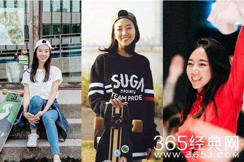 韩国滑板女神是谁 韩国滑板女神高孝周个人资料