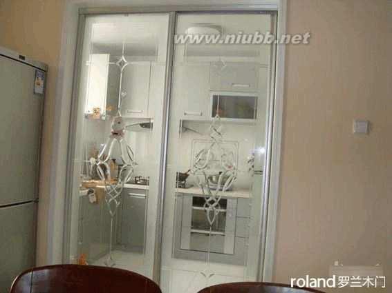 厨房玻璃门图片 推拉厨房门图片效果图赏析