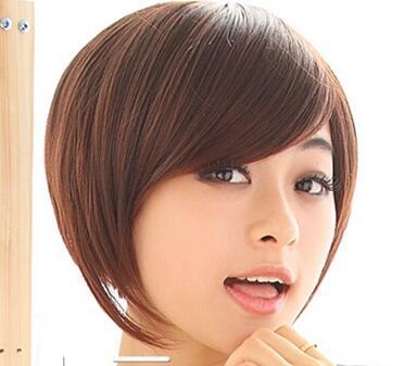 女生短发发型波波头 内扣波波头短发与侧分的波波头显图片