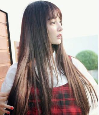 空气刘海适合什么脸型 鹅蛋脸与小v脸显得甜美清新图片