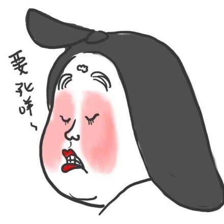 手绘杨贵妃头像