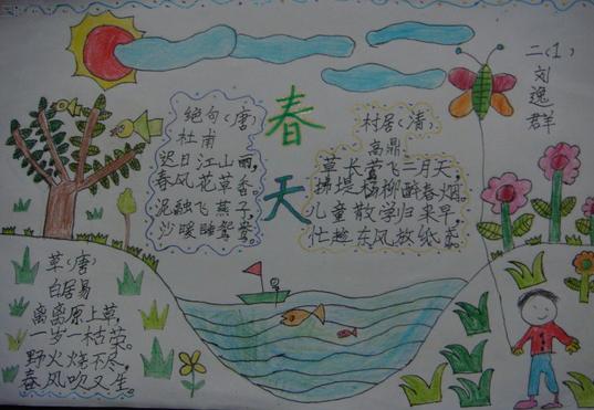首页 手抄报     描写春天风景的句子   一场春雨过后,岸边的柳树被洗
