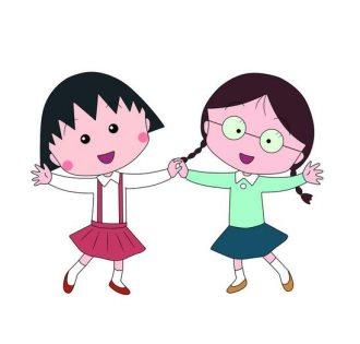 萝莉樱桃小丸子 -动画图片