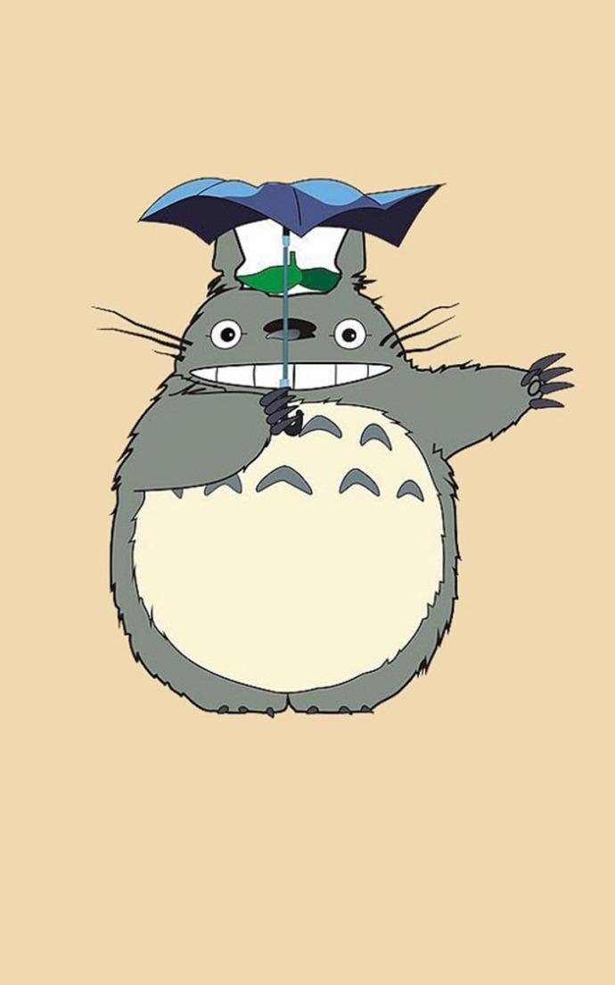 无水印超清龙猫卡通图片 -动画图片
