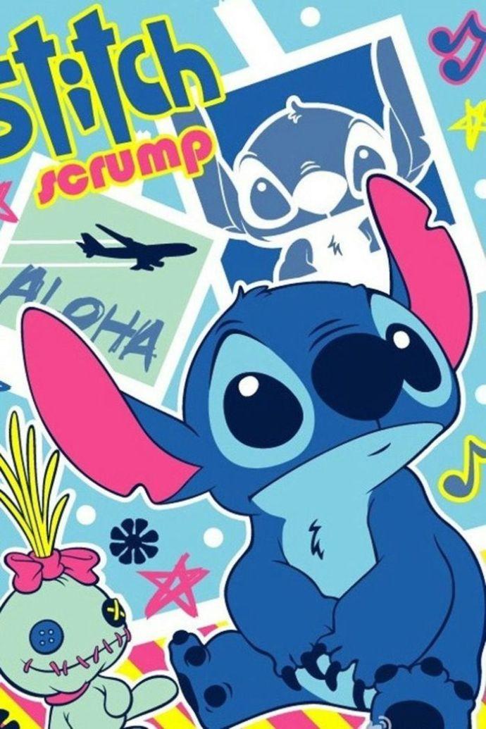 史迪奇超可爱卖萌卡通壁纸图片 -动画图片