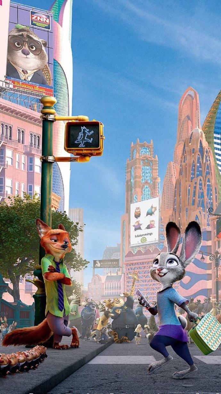 疯狂动物城高清动画图片