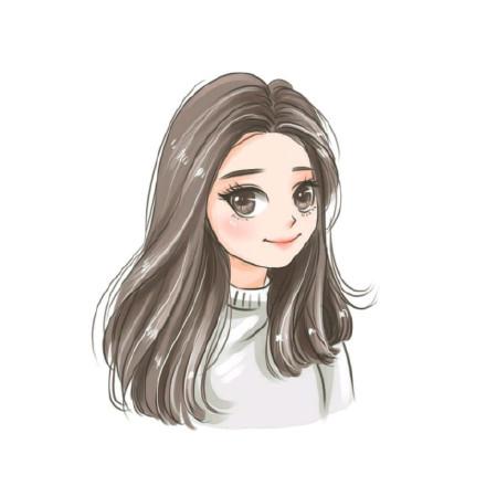 女生q版萌卡通头像图片
