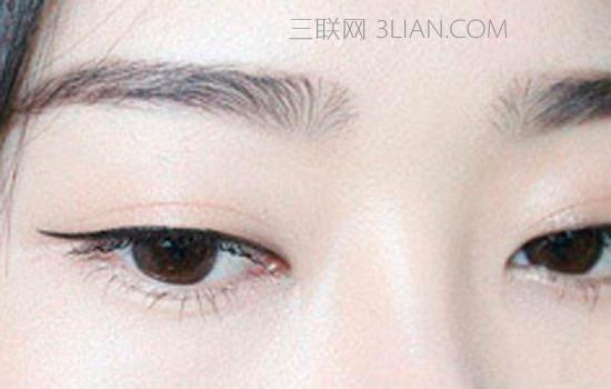 单眼皮女神告诉你单眼皮怎么画眼线好看图片