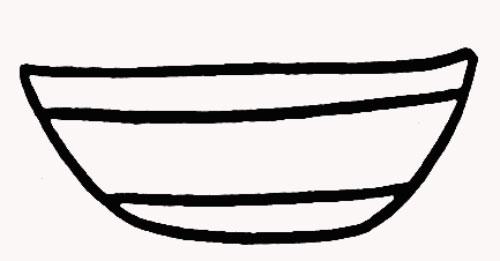 竹篮简笔画图片