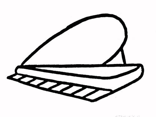 钢琴简笔画图片