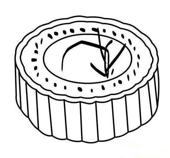 月饼怎么画简单又好看