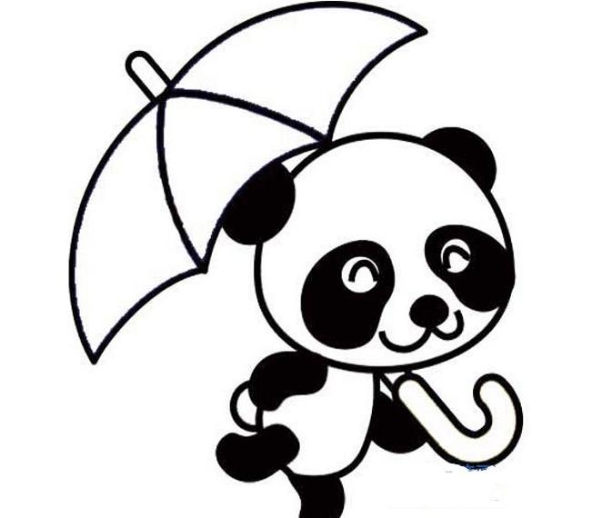 下面给大家带来大熊猫简笔画图片大全,一起试着绘画吧!图片