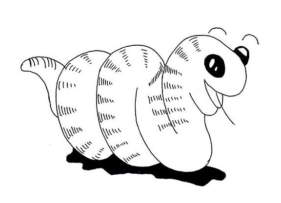 简笔画  蛇这种冷血爬行动物我想没有人会很喜欢吧,看着蠕动的身体