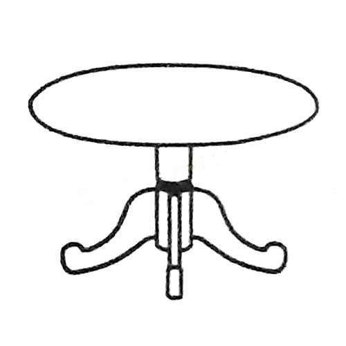 桌子简笔画的画法步骤