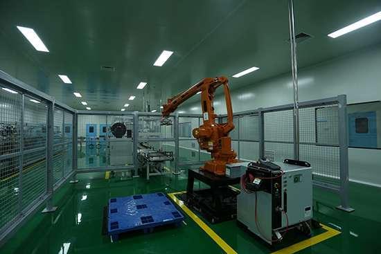 我国兽药产业民族企业第一条最高标准智能化粉剂、散剂、预混剂兽药GMP生产线在恒通动保问世