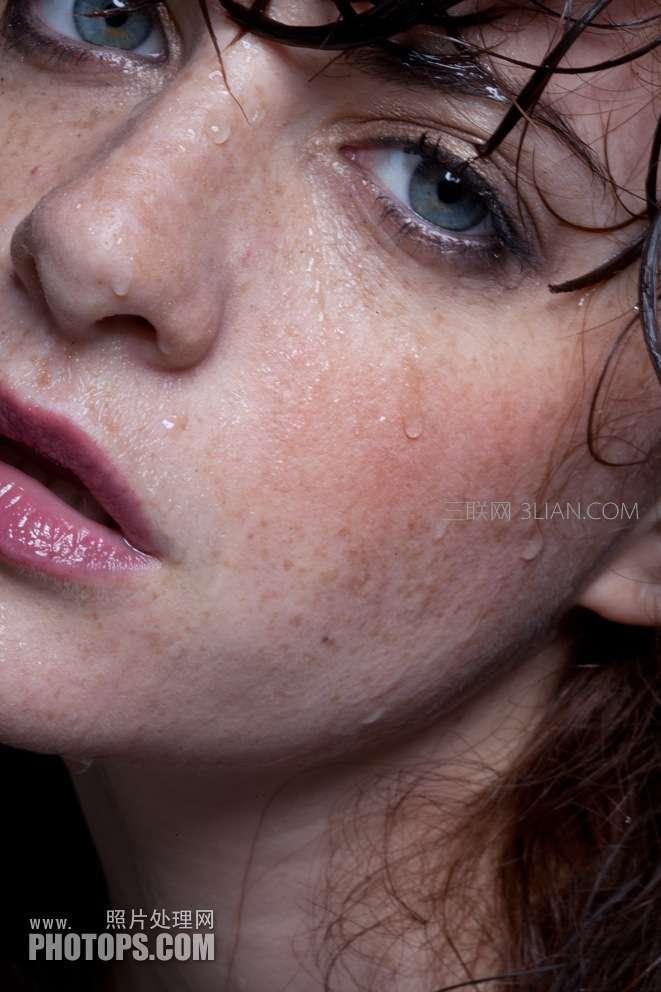 人物脸部祛斑磨皮润肤处理的ps技巧