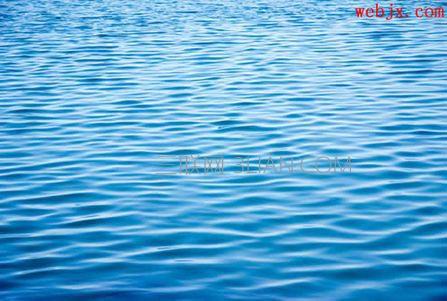 湖水素材图片,作为文字的背景使用.ps倒影字效果怎么做
