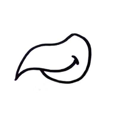 乌鸦简笔画的画法步骤教程