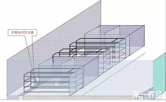 猪舍设计图:猪舍建造细节尺寸图纸